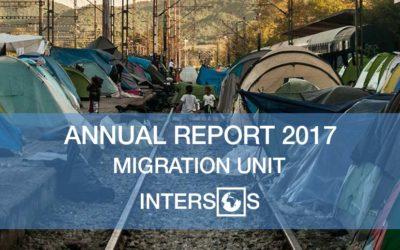 Migration unit: Intersos Annual Report 2017
