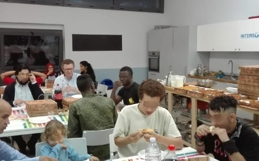 L'Iftar a INTERSOS24: momenti di condivisione per creare legami tra minori e quartiere