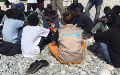 INTERSOS per i diritti dei migranti al confine italo-francese