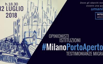 #MilanoPortoAperto – Giovedi 12 luglio al Teatro Guanella – ore 18.30