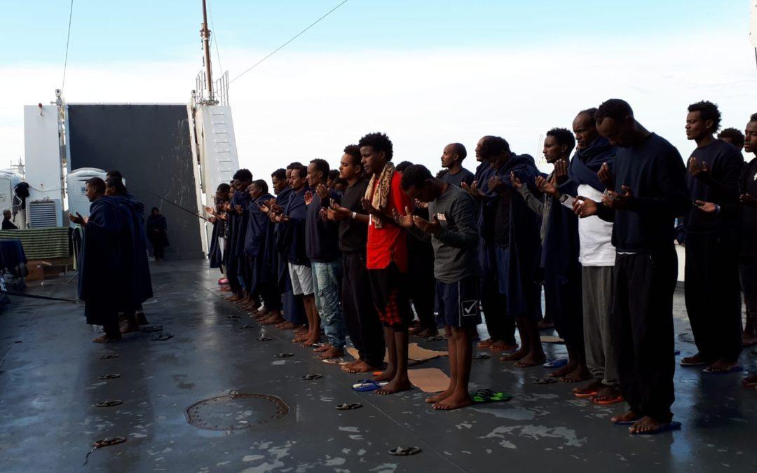Intersos-UNICEF: Appello alle Istituzioni per lo sbarco dei 29 minorenni a bordo della Diciotti