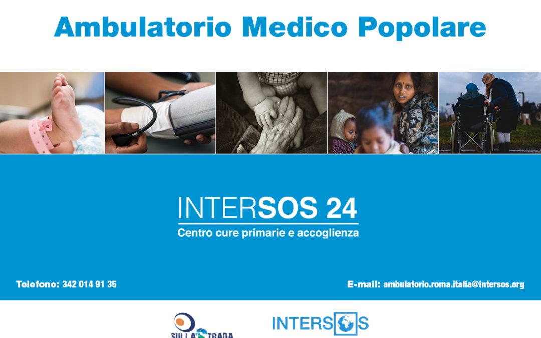 Ambulatorio popolare INTERSOS24: nuovi servizi aperti a tutti