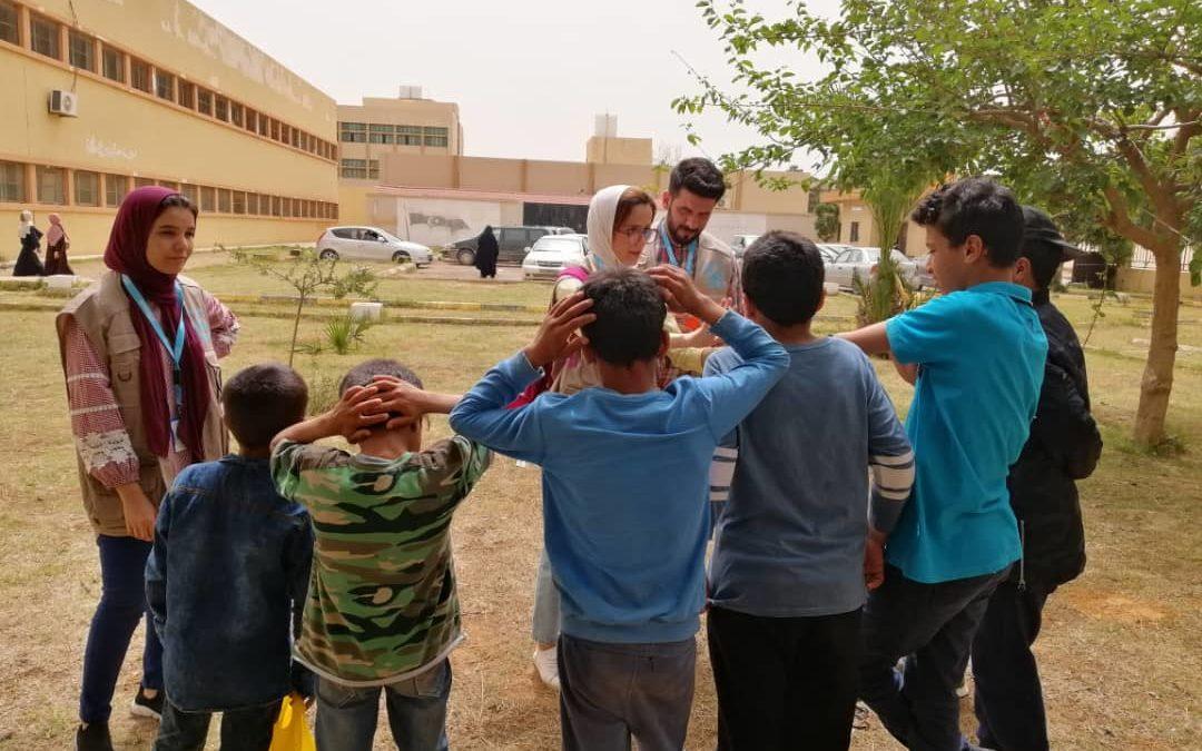 Libia, in prima linea per proteggere e assistere civili