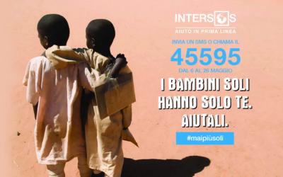 Campagna #maipiùsoli. Dal 6 al 26 maggio chiama o manda un sms al 45595