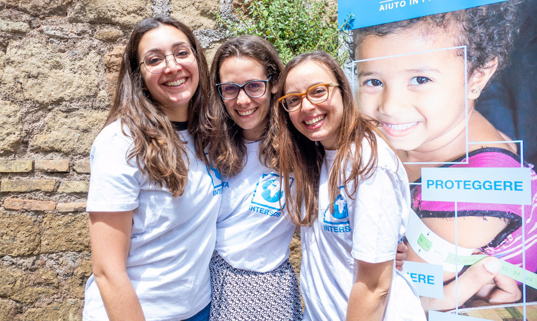 Volontari con INTERSOS, insieme per un mondo più giusto