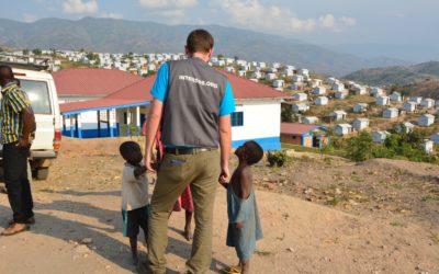 operatore umanitario INTERSOS in Repubblica Democratica del Congo