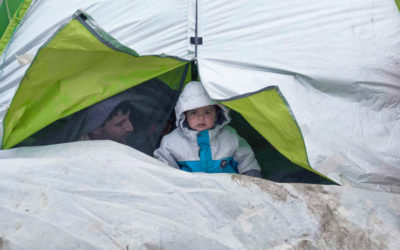 Idlib IDPs in the cold of Siria