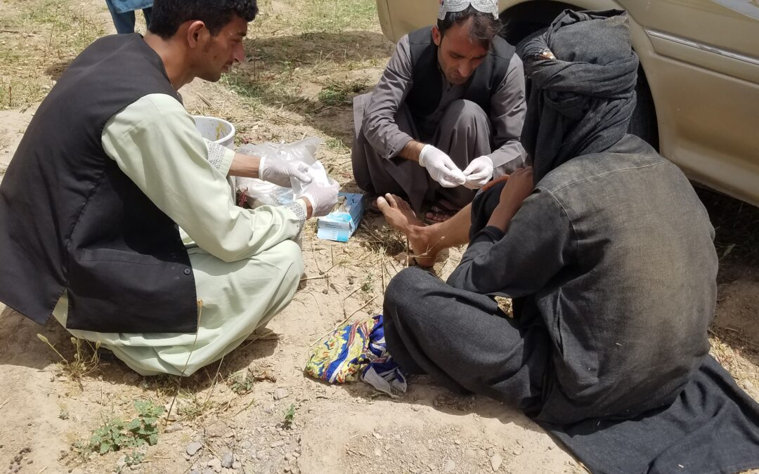 L'Afghanistan stretto tra due morse: COVID-19 e guerra