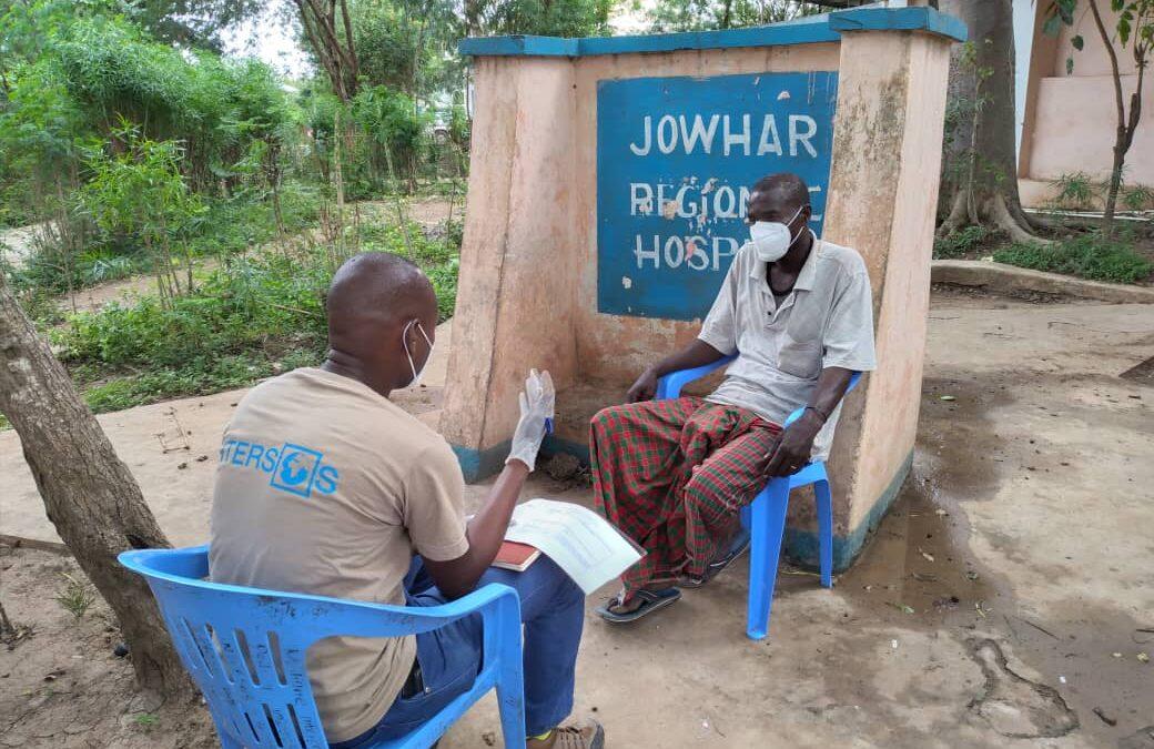 Ali, la Somalia e l'ospedale che scioglie la paura di avere il COVID-19