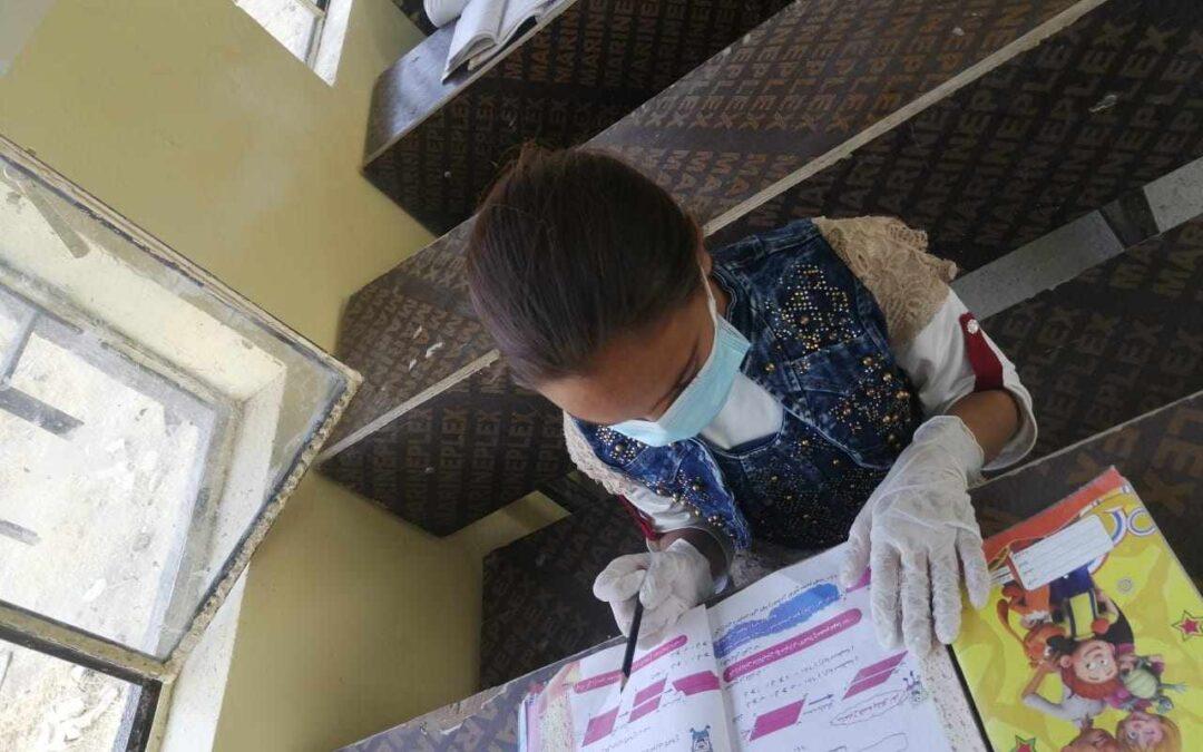 Iraq, scuola a distanza e tanta voglia di tornare in classe