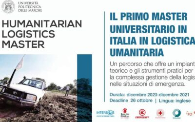 Master in Humanitarian Logistics