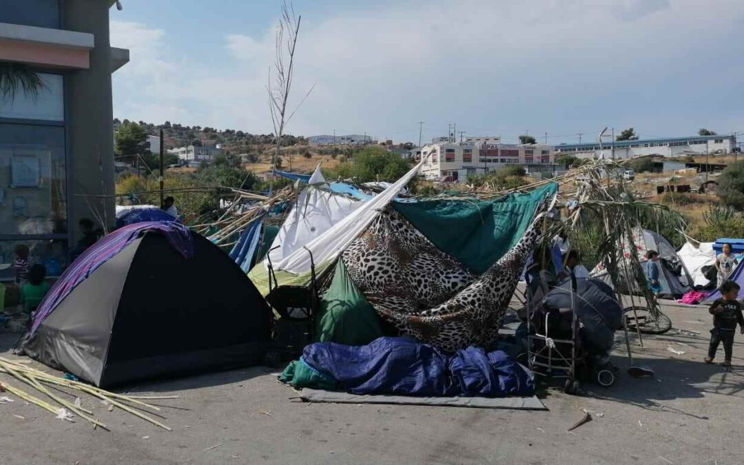 #1 Update from Lesbos: concerns over limited humanitarian access