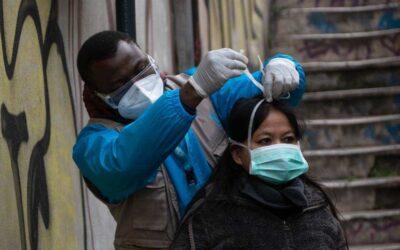 team mobile su Roma visita le persone più vulnerabili