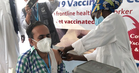 "COVID-19 Vaccines, Nigeria, ""Wrong Messages on Social Media but the Turnout is Good"""