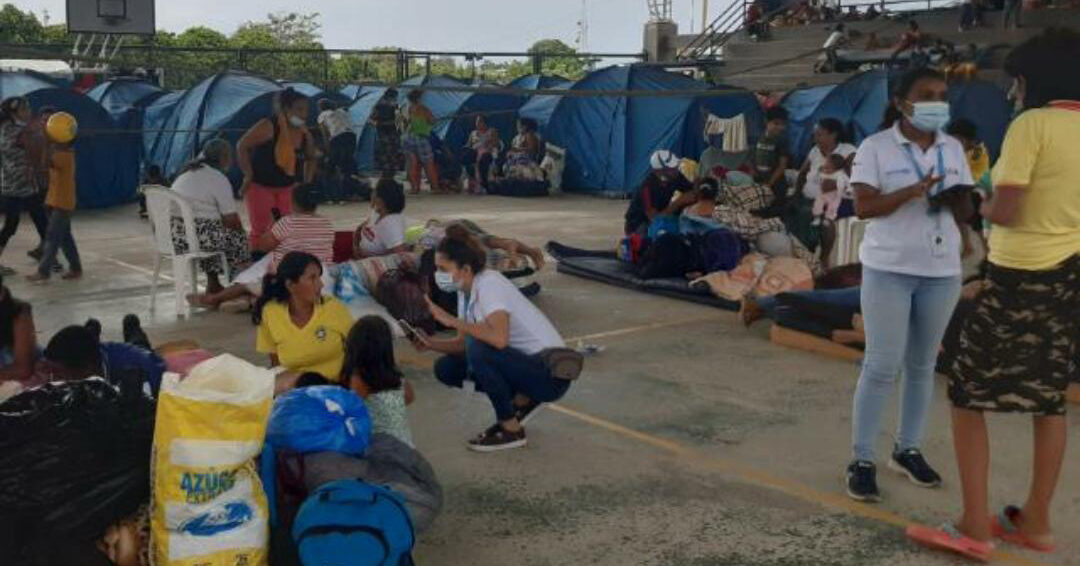 Clashes at the border between Venezuela and Colombia, 5,000 people fleeing the country