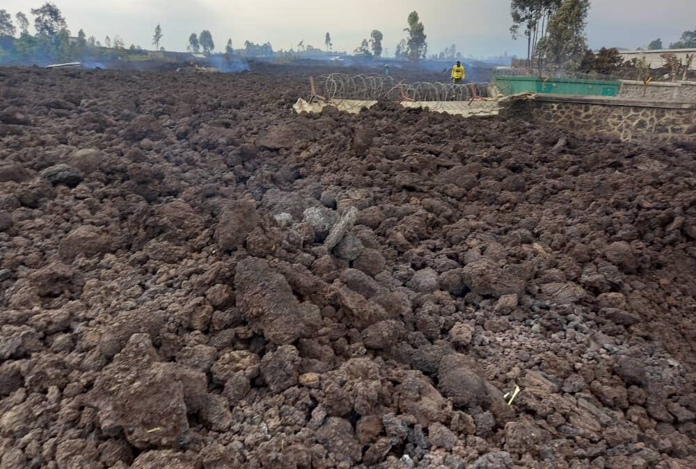 Volcano eruption in Congo, INTERSOS is at the forefront