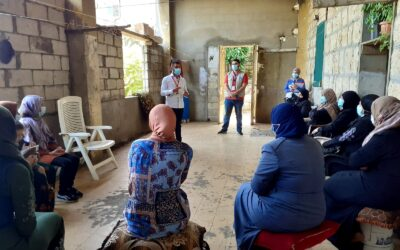 Lebanon, Intersos is strengthening the autonomy and capacity of refugee communities